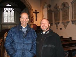 Richard Jackson, Diocesan Advisor for Mission and Renewal with Gary